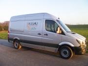 Unser Transporter zur Auslieferung ernterfrischer Kartoffeln